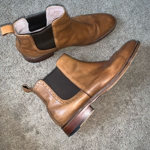 Johnston & Murphy McClain Leather Chelsea Boots